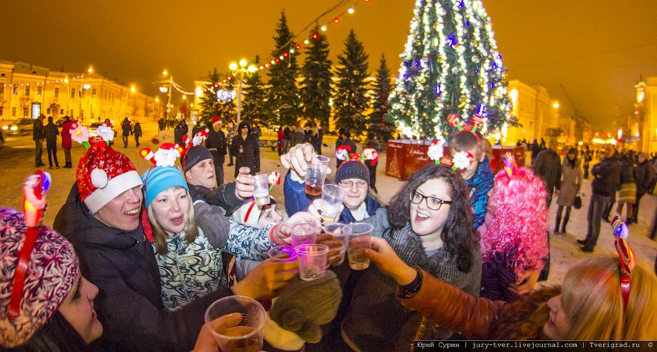 Как отметить новый год в ставрополе