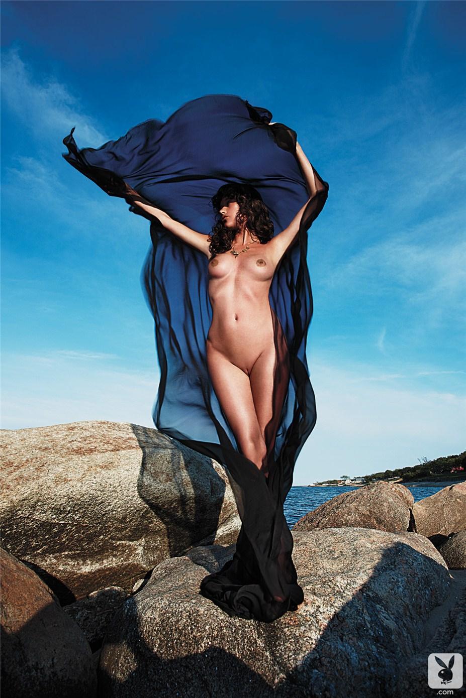 актриса Пас де ла Уэрта / Paz de la Huerta - Playboy USA january-february 2013