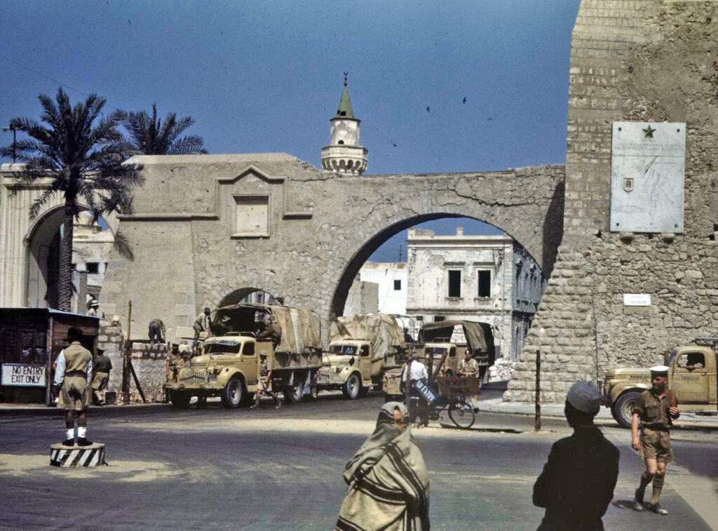 В северной африке тунис и ливия 1943