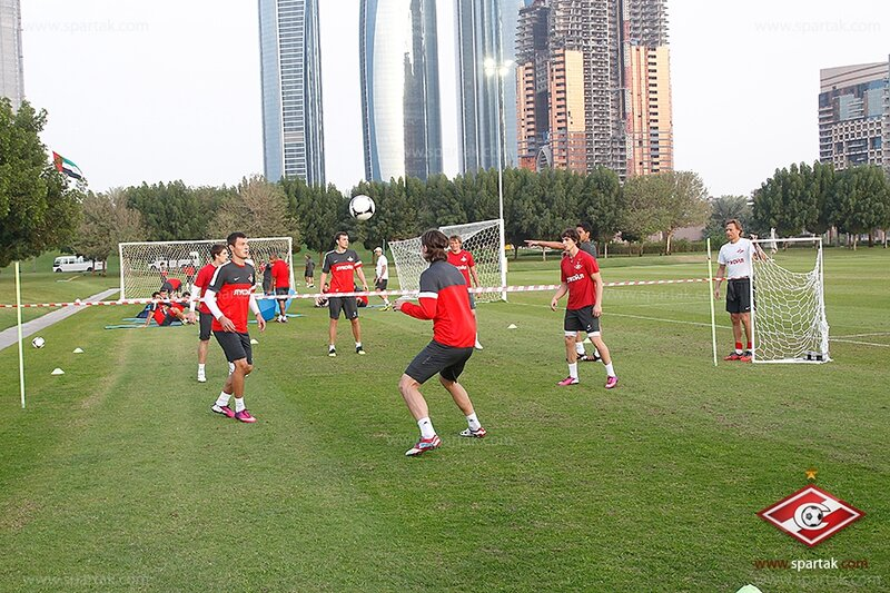 Тренировка «Спартака» после игры с «Бунедкором» (Фото)