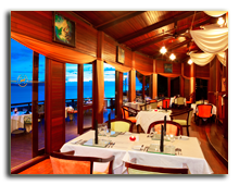 Малайзия. Лангкави. Sheraton Langkawi Beach Resort. Captains Grill