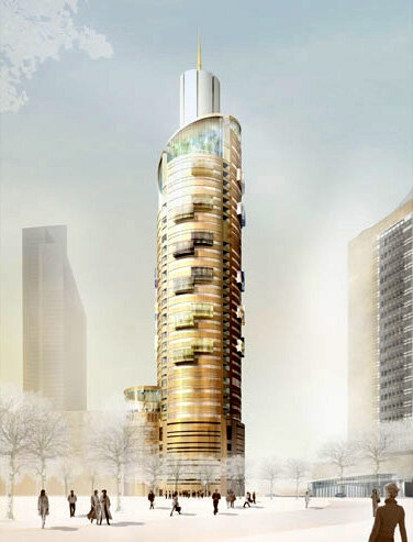 Башня Исеть. Дизайн-проект.