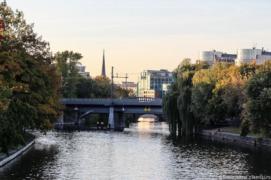 Река Шпрее.