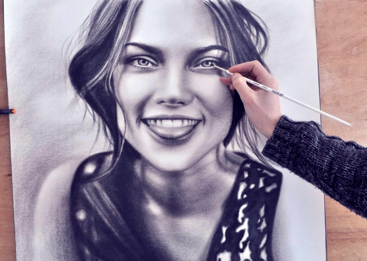 How to draw photorealistic people 50 Clever Tutorials and Techniques on Traditional Drawing