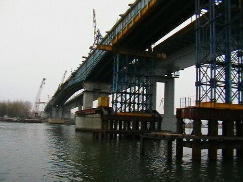 """Реконструкция моста через р. Дон на 1061 км автодороги М4 """"Дон"""""""