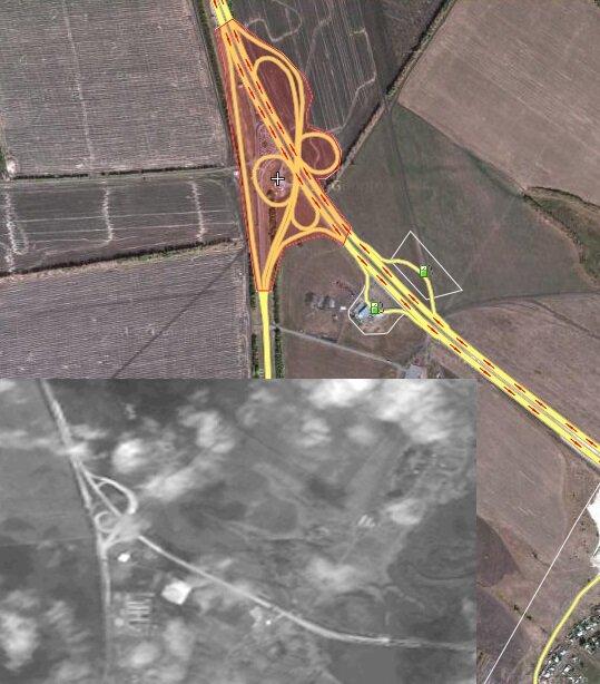 М4 Дон 585 км развязка Лиски реконструкция Воронежская область Wikimap