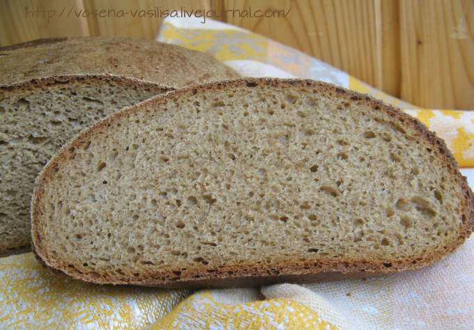 Подовой хлеб в домашних условиях