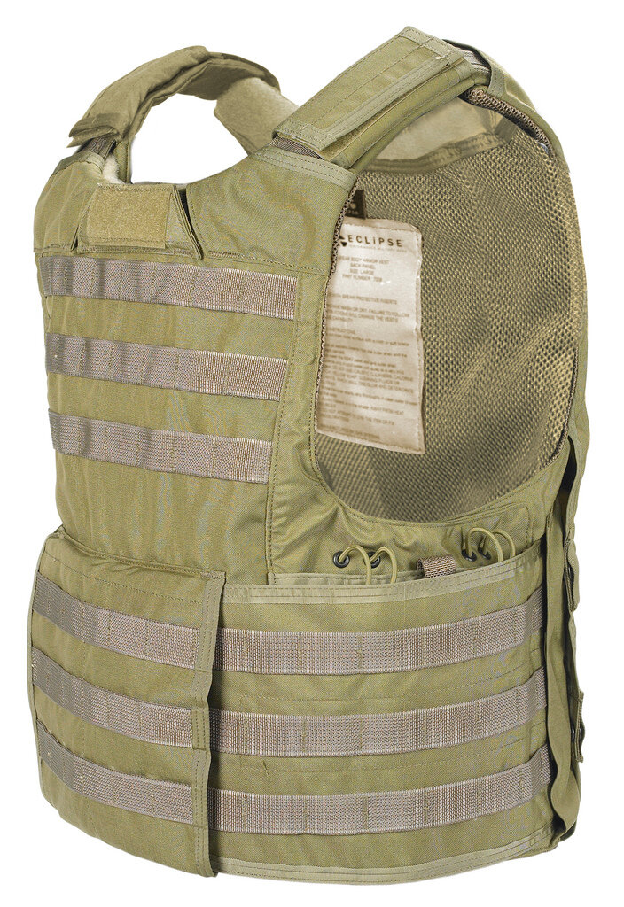 Releasable Body Armor Vest (RBAV)