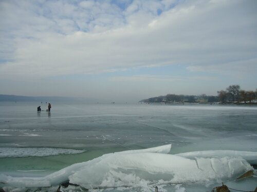Зимняя рыбалка на Днестре