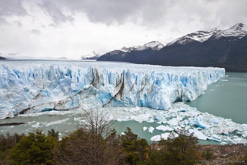 1. Устоявший перед потеплением. Ледник Перито Морено.