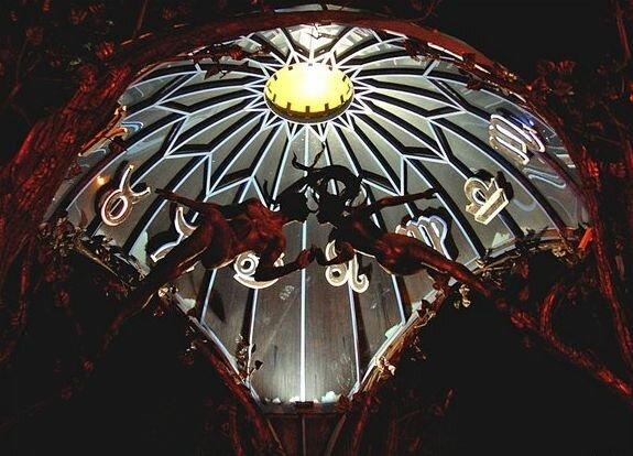 Вокруг купола сферы расположены знаки зодиака (09.04.2013)