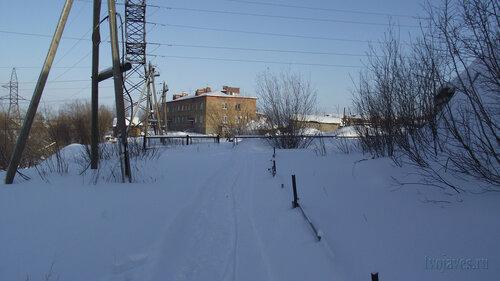 Фото города Инта №3739  Северо-западный угол Январской 21 19.02.2013_12:47