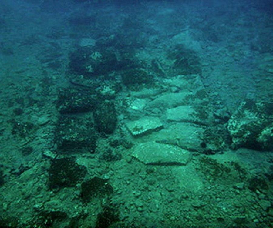 Археологами вЭгейском море найден  древнегреческий подводный город, которому около 4500 лет