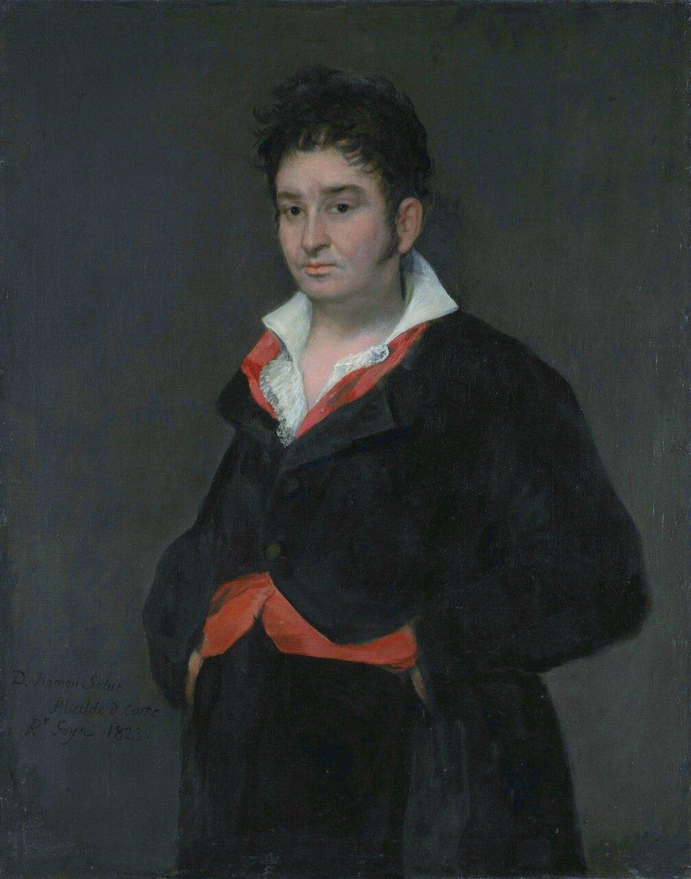 Don Ramón Satué (1765-1824), by Francisco José de Goya y Lucientes