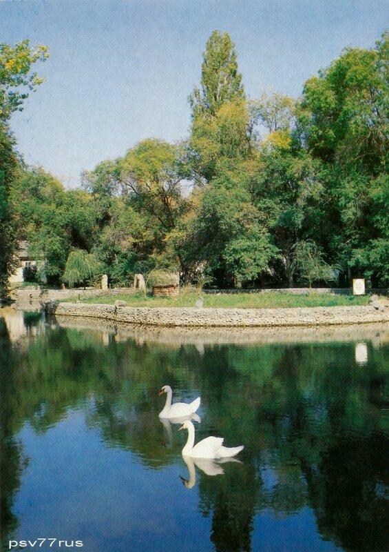 Озеро на территории санатория имени В.Л.Ленина.