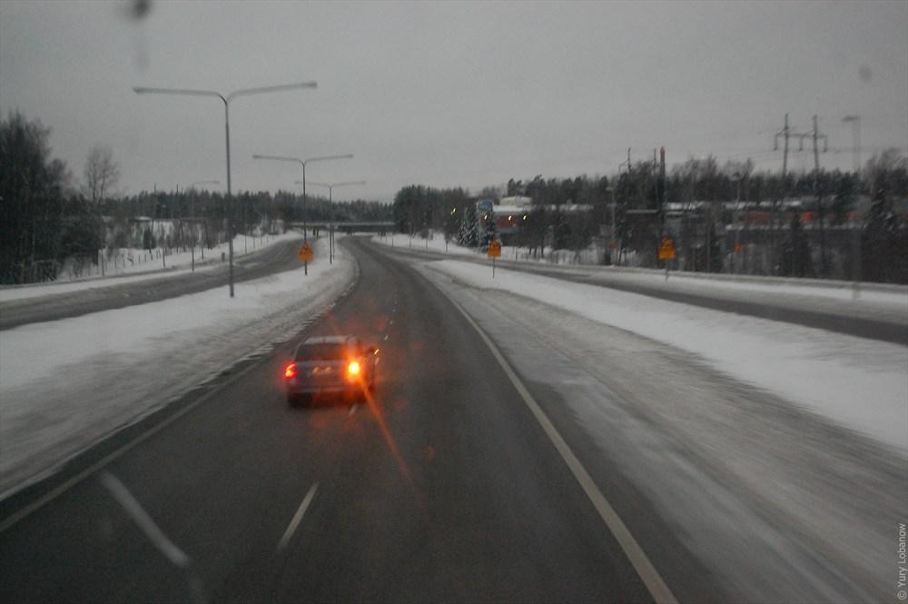 Хельсинки финское шоссе