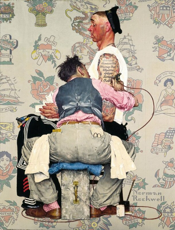 the life and illustrations of norman rockwell