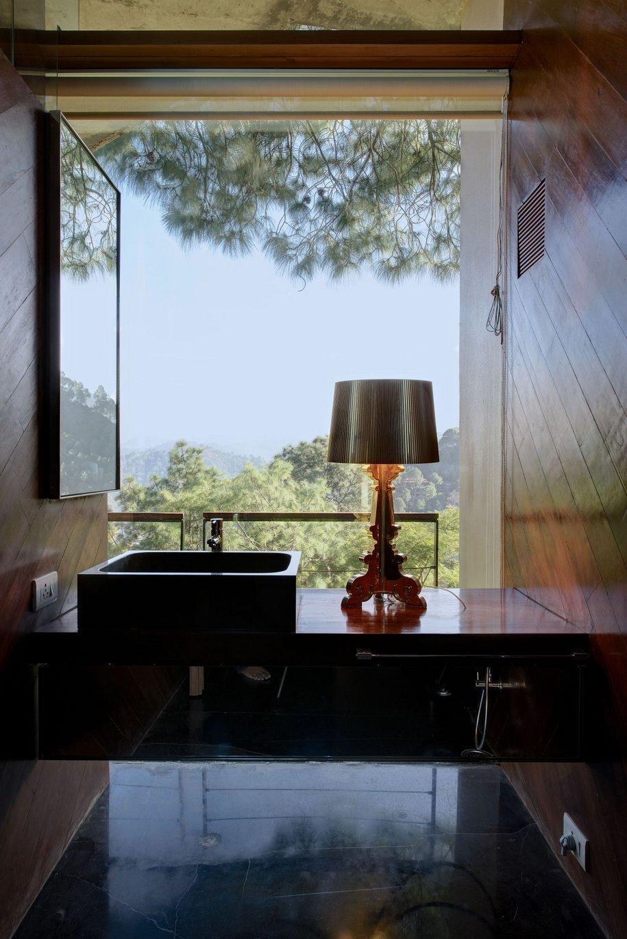 Необычная архитектура жилого дома в Индии
