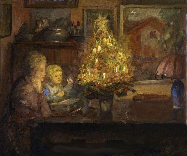 Viggo Johansen (1851-1935) A Christmas Story