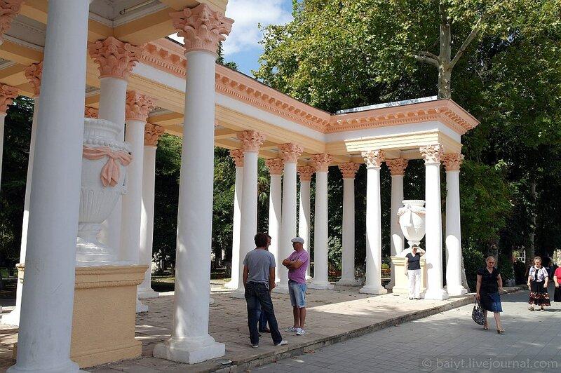 Вход в городской парк Кутаиси