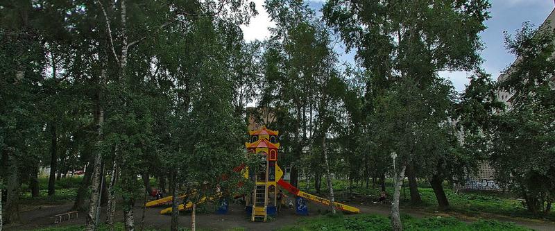парк у гимназии 3 архангельска