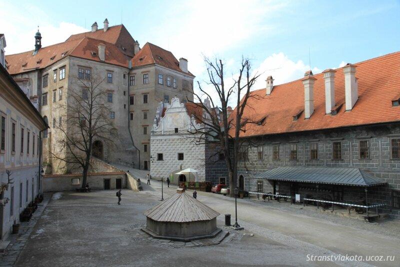 Южная, Богемия, Замок Ческе Крумлова