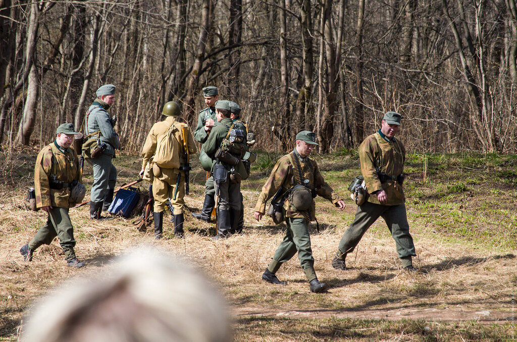 Военно-историческая реконструкция в Гатчине