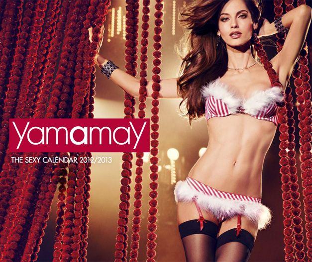 Нижнее белье Yamamay - календарь на 2013 год