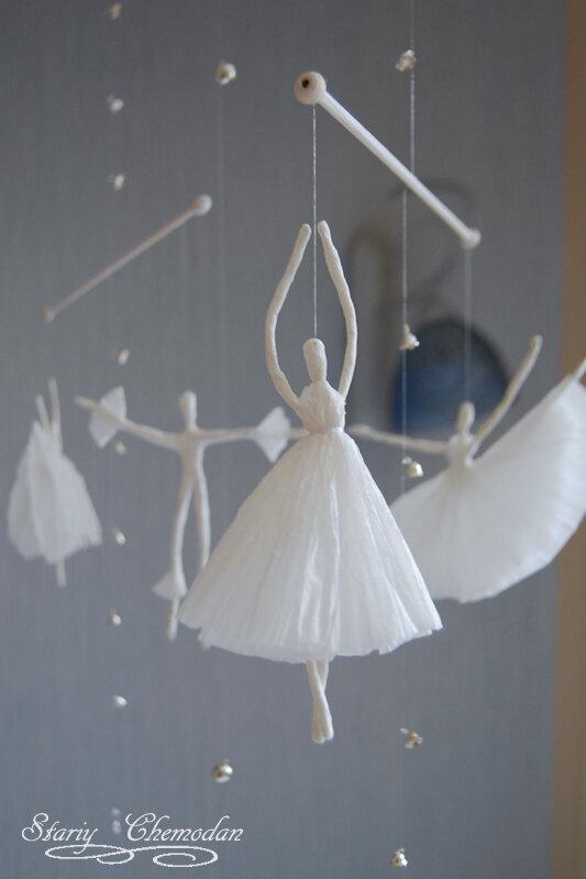 Brainstorm: Paper Ballerinas