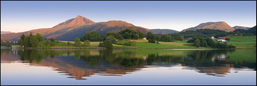 Норвегия. Тишь вечерняя.jpg