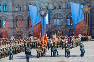 Репетиция Парада Победы 7 мая