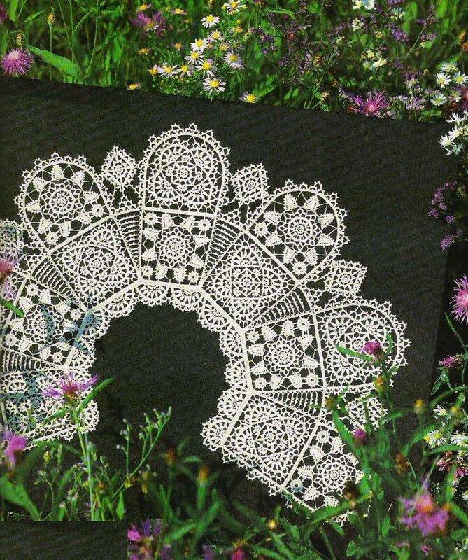 爱尔兰领饰之二 - 柳芯飘雪 - 柳芯飘雪的博客