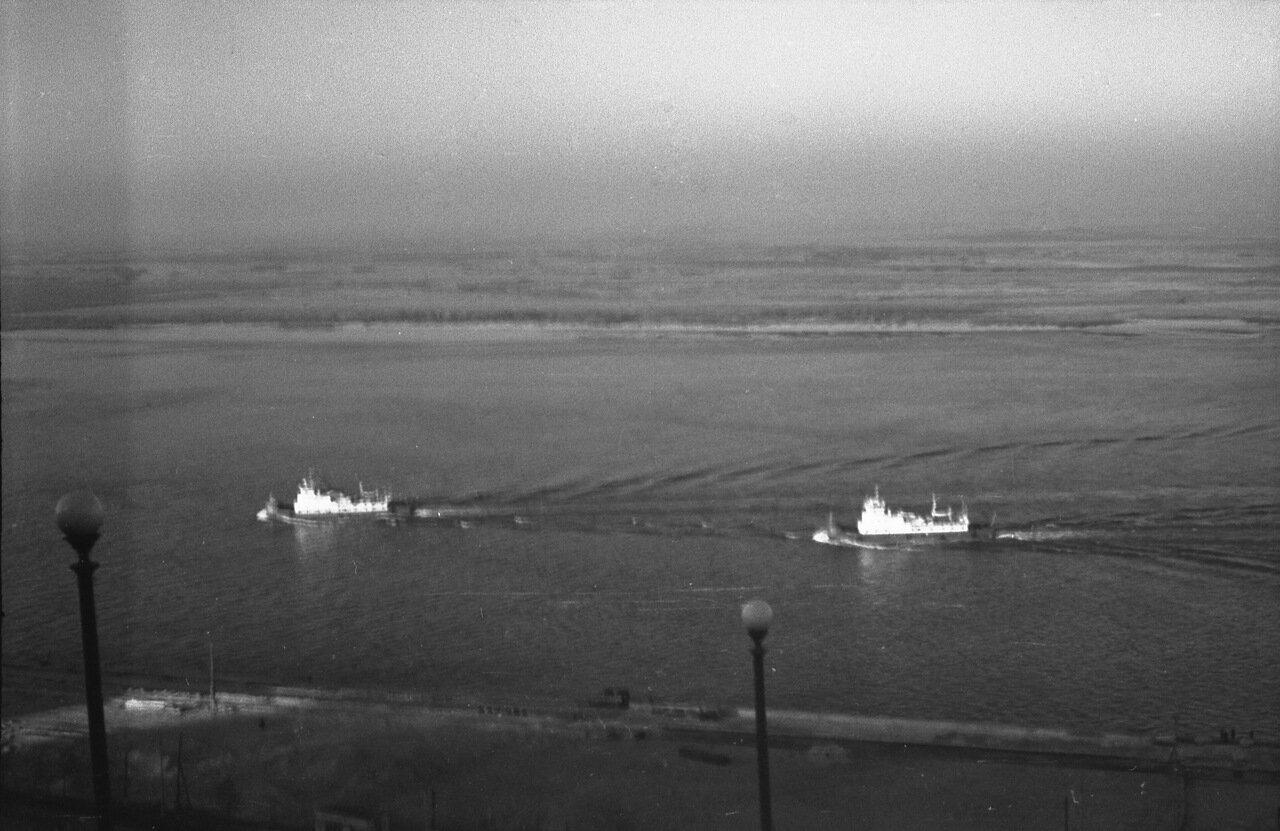 Сентябрь-октябрь 1967 года. Вид от Чкаловской набережной