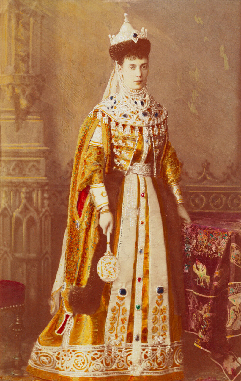 Императрица Мария Федоровна, 1889