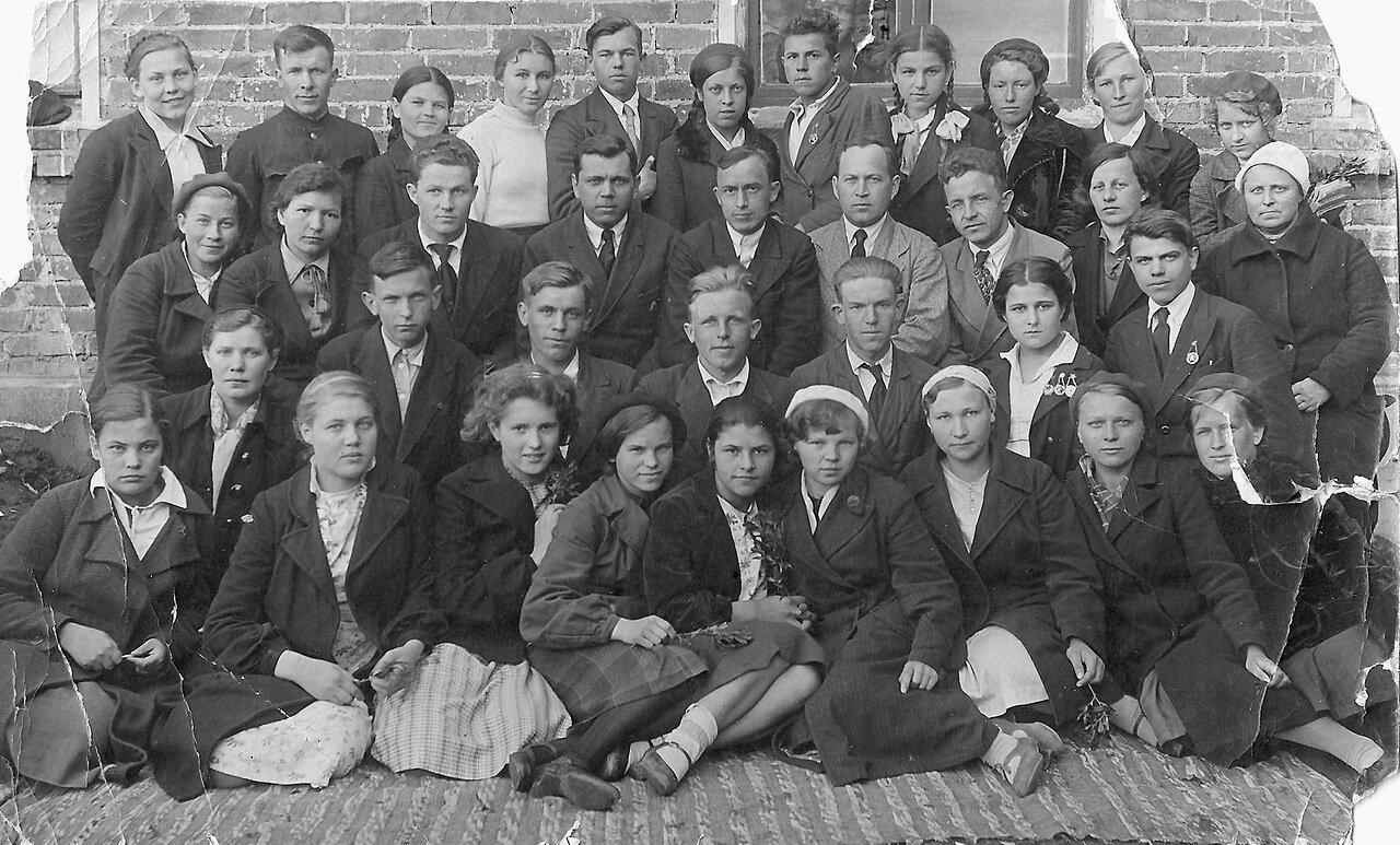 Выпуск 1941 г., Лежневская средняя школа
