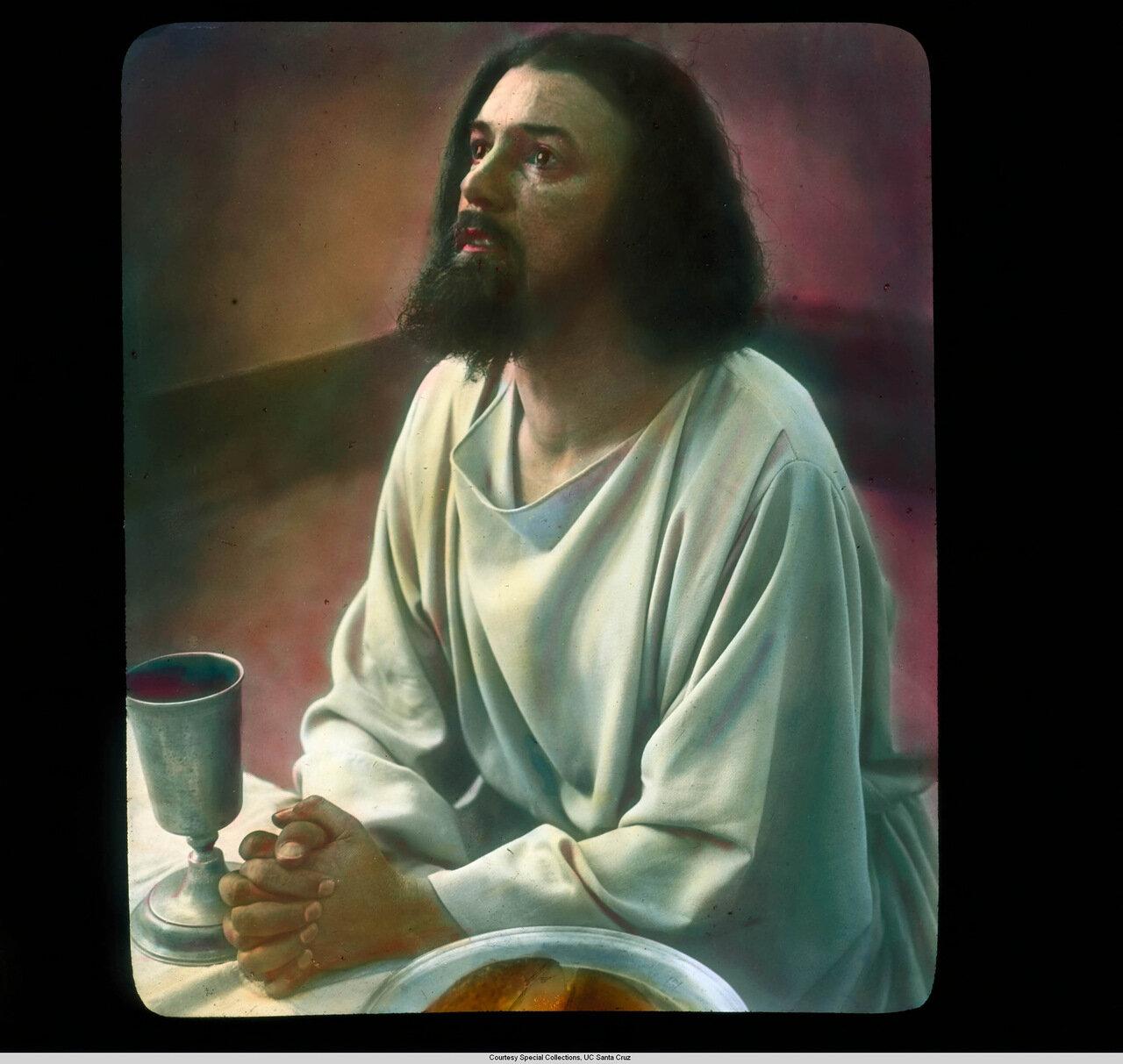 Обераммергау. Страсти Христовы. Алоис Лэнг в роли Иисуса