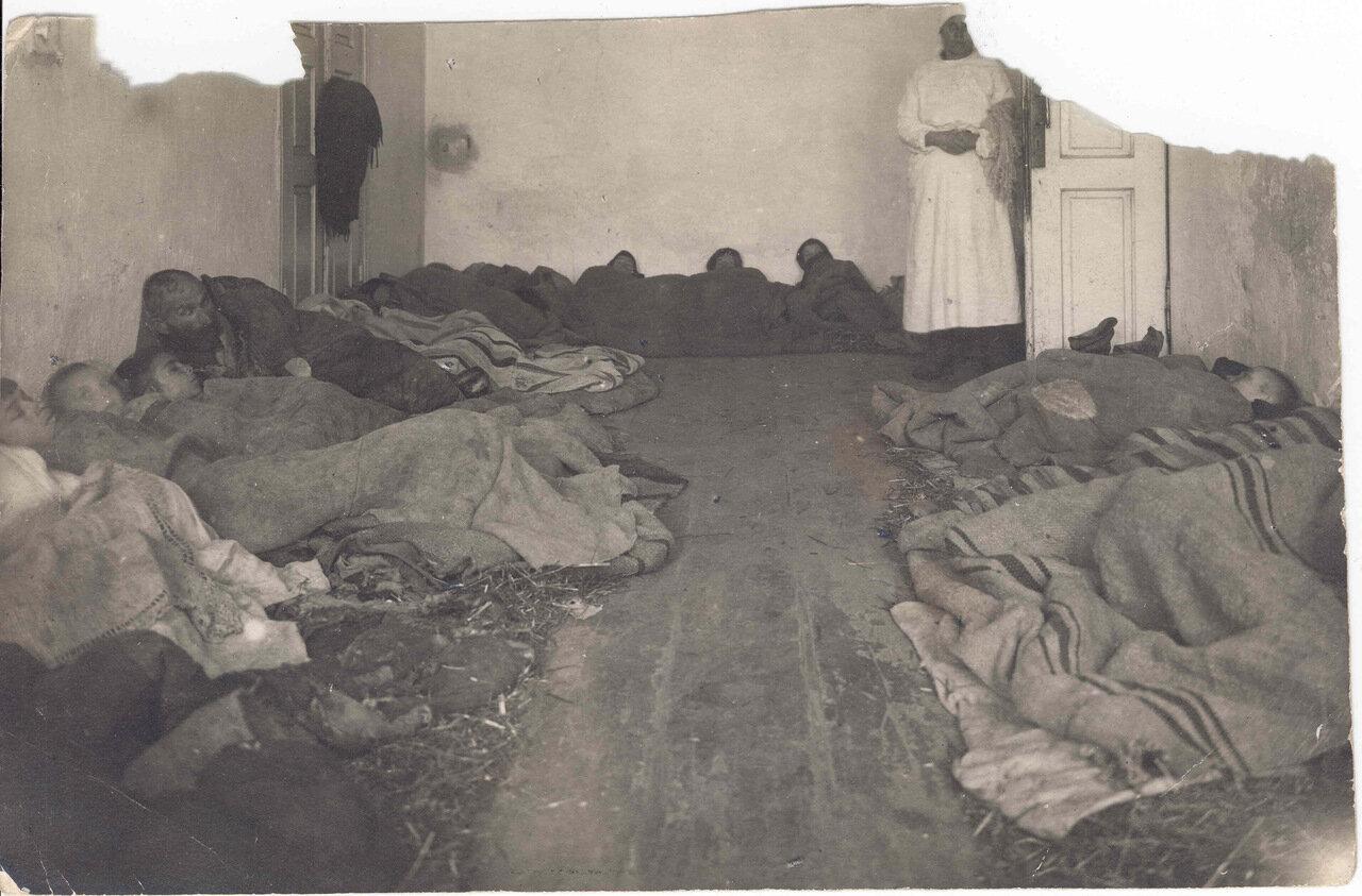 Жертвы голода в больнице