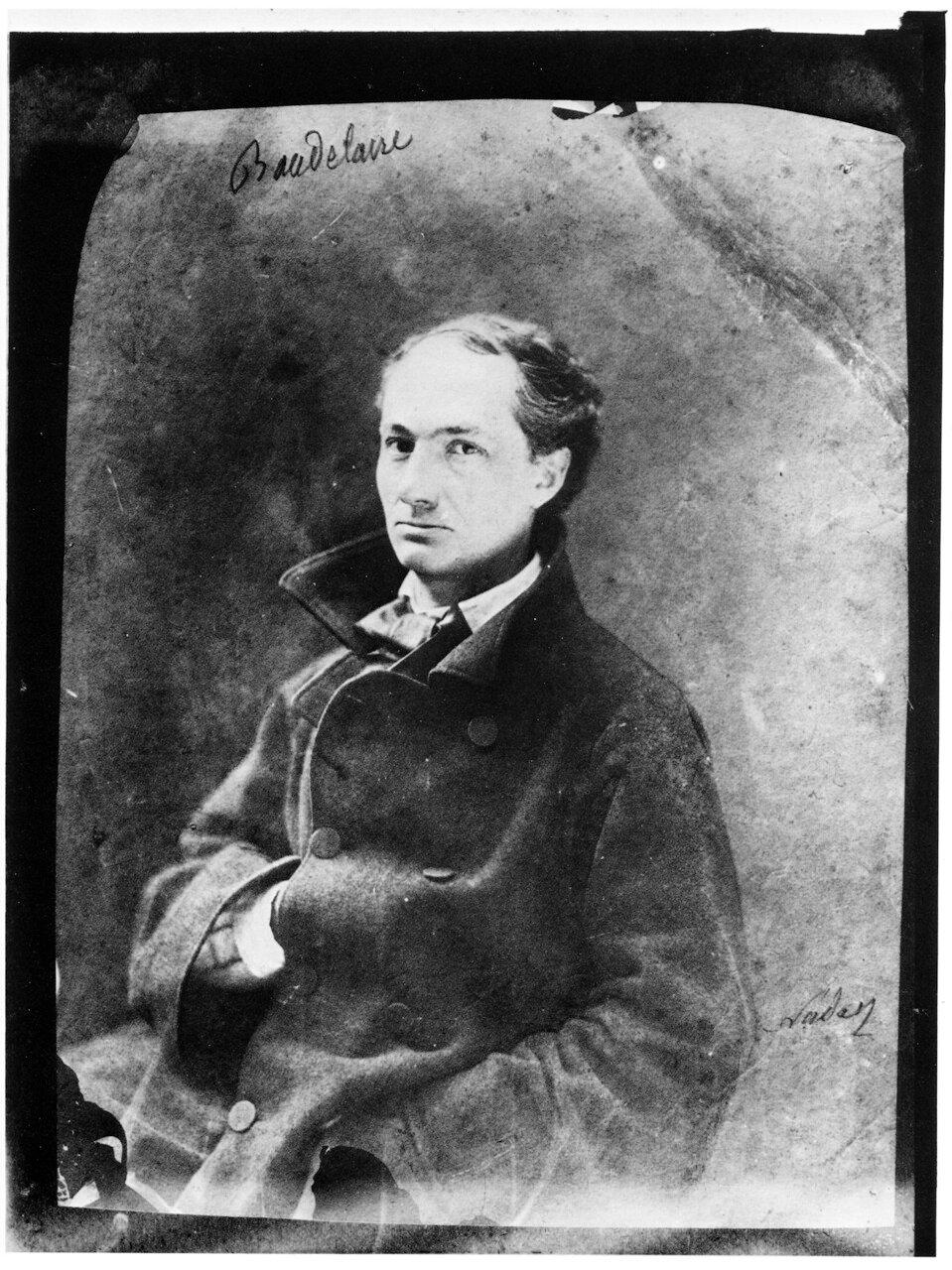 Шарль Пьер Бодле́р. 1855