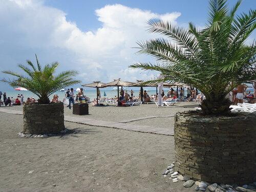 Пляж Ривьера, город Сочи