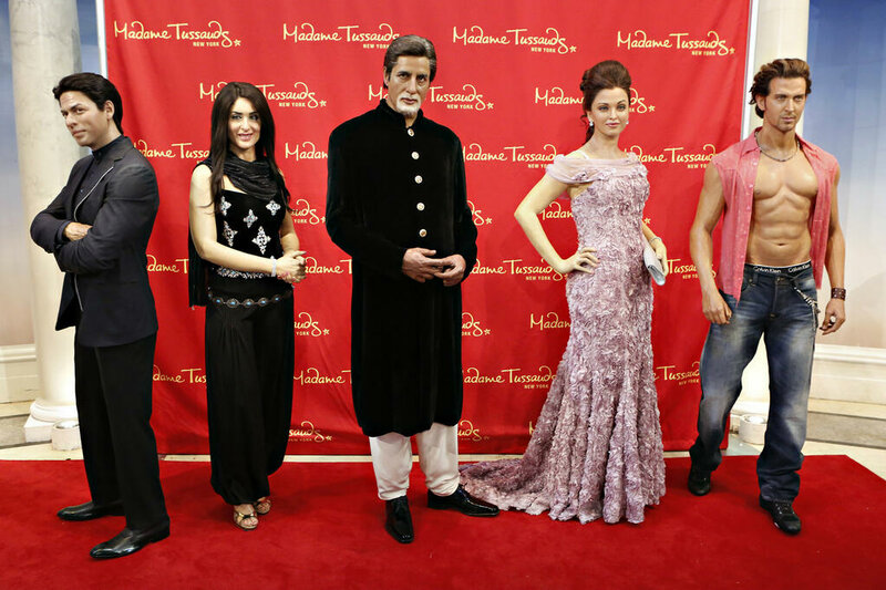 SRK & Bollywood Stars - Madam Taussards - 8 march 2013