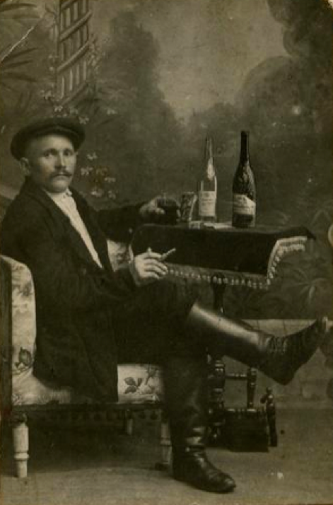 Portrait of a man from St. Petersburg, c. 1900's