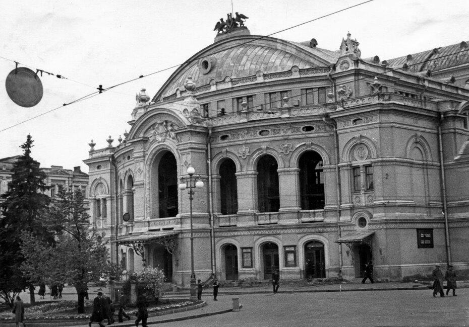 1950-е. Оперный театр