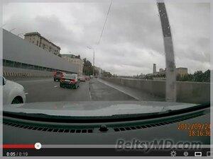 Мажор снял видео на папином авто со спецномерами