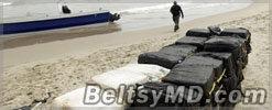К берегам Дании течением прибило 100 кг кокаина