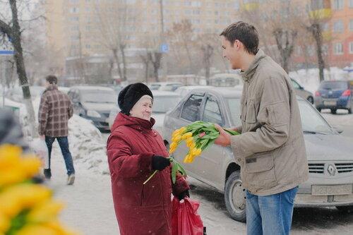 Оригинальное поздравление с 8-м марта в Подмосковье