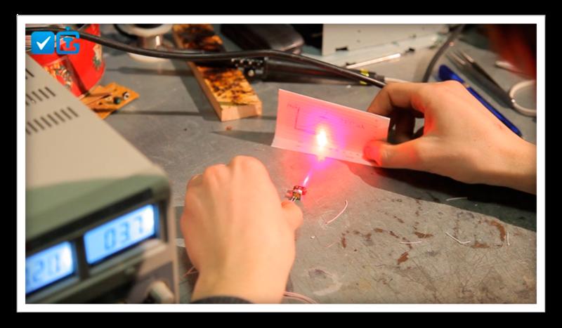 Как мы делали лазер из DVD-RW привода