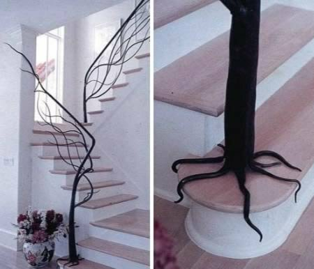 Самые креативные перила для лестниц - Ням-Нямки!