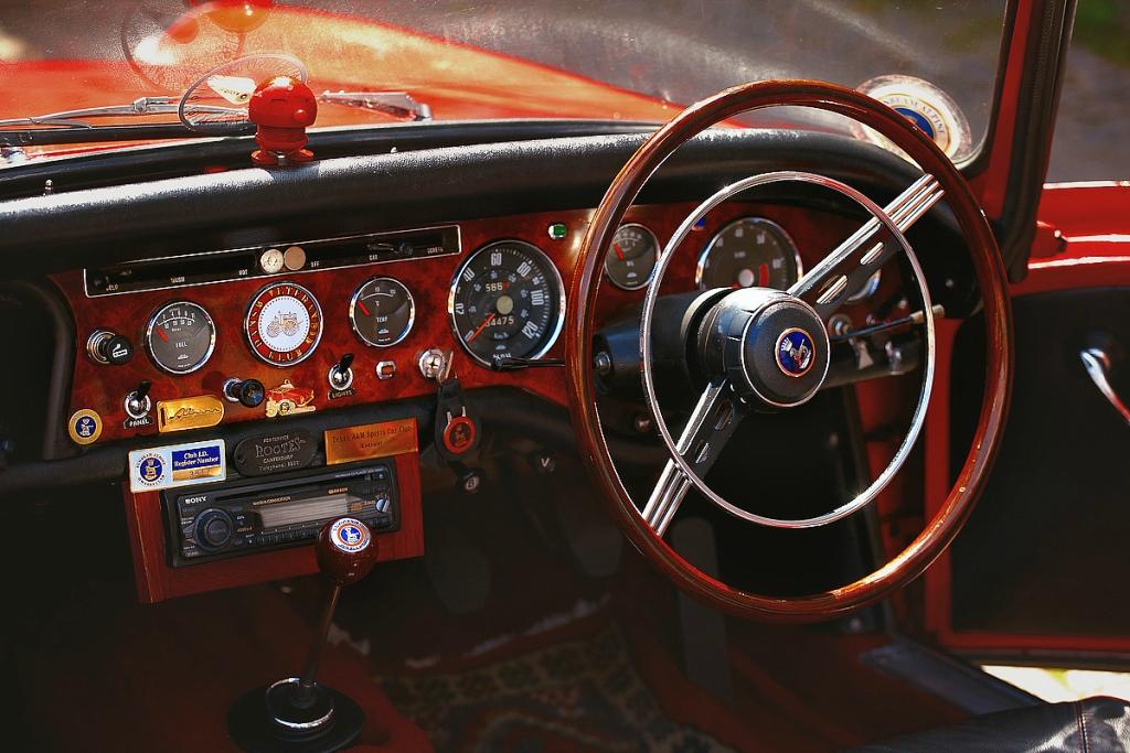 Старые автомобили Копенгагена