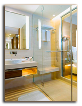 Малайзия. Куала-Лумпур. Renaissance Hotel. LifeStyle Room Bathroom