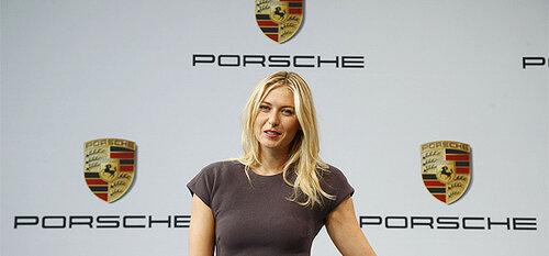 У бренда Porsche появился новый представитель в лице Марии Шараповой